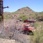 Drilling on AP11-54